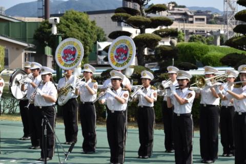 北九州市消防音楽隊による 生演奏ファンファーレ