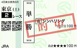 シンハリングが待望の初勝利!!