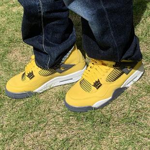 エアジョーダン4ツアーイエロー Nike AirJordan4 TourYellow